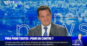 PMA sans père : Jean-Frédéric Poisson en débat sur BFMTV – 24/09/19