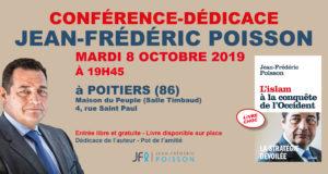 Conférence de Jean-Frédéric Poisson à Poitiers le 8 octobre