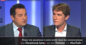 Jean Frédéric Poisson invité du Talk Le Figaro – 03/10/2019