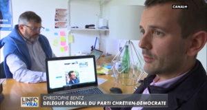 Religion et politique : Christophe Bentz, Délégué Général du PCD interrogé pour un reportage Canal+