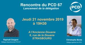 Rencontre pour le lancement de la délégation du PCD du Bas-Rhin (67)