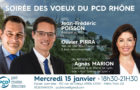 Jean-Frédéric Poisson présent aux vœux du PCD 69