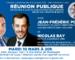 Saint-Germain-en-Laye : réunion publique de Jean-Frédéric Poisson et Nicolas Bay, mardi 10/03 à 20h