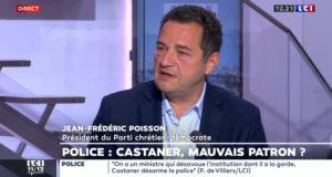 «La police de France conteste son ministre Castaner. Il doit partir !» Jean-Frédéric Poisson sur LCI